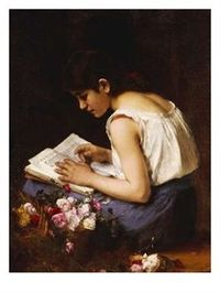 A_girl_reading